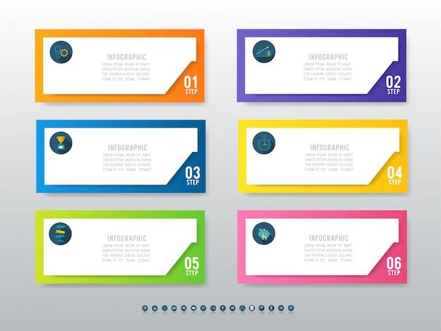 Ontwerp zakelijke sjabloon infographic grafiekelement.