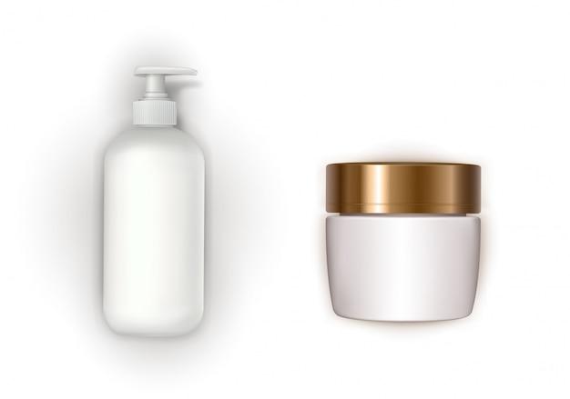 Ontwerpelement met biologische cosmetica