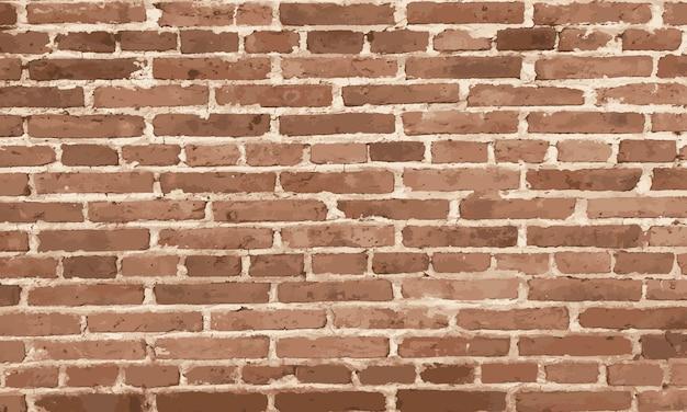 Ontwerpelementen bruine bakstenen muur