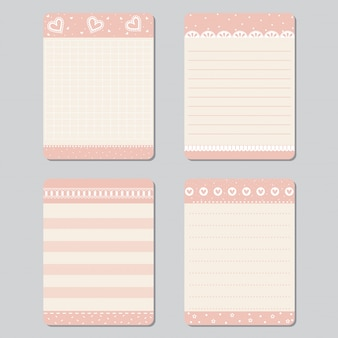 Ontwerpelementen voor notebook
