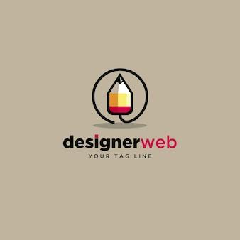 Ontwerper weblogo ontwerp