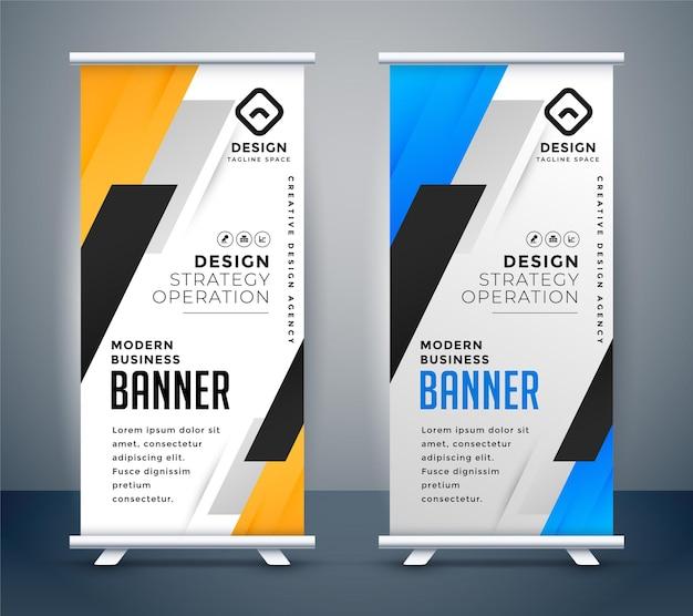 Ontwerpset voor oprolbare bannerstandaard