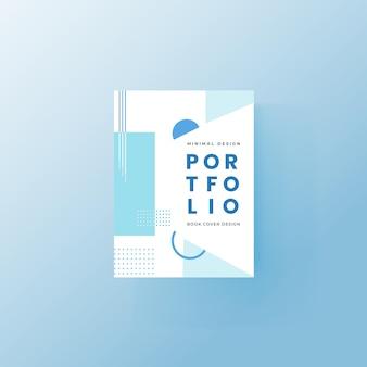 Ontwerpsjabloon voor brochure en boekomslag