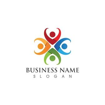 Ontwerpsjabloon voor community-, netwerk- en sociale pictogrammen