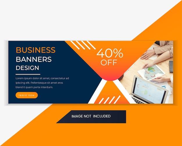 Ontwerpsjabloon voor digitale marketing webbanner