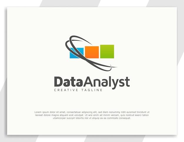 Ontwerpsjabloon voor gegevensanalist logo