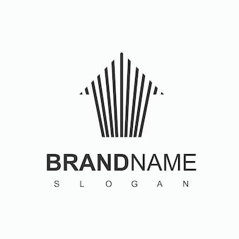 Ontwerpsjabloon voor onroerend goed logo