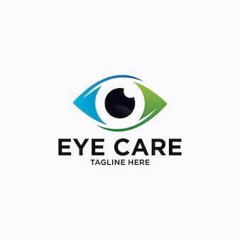 Ontwerpsjabloon voor ooglogo