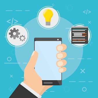Ontwikkeling van mobiele apps