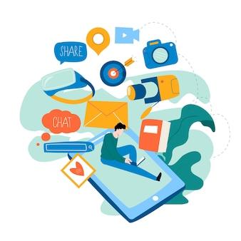 Ontwikkelingsconcept voor mobiele applicaties
