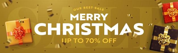 Onze beste aanbieding merry christmas-uitverkoop met 70 procent korting