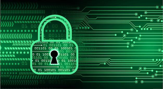 Oog cyber circuit toekomstige technologie concept achtergrond