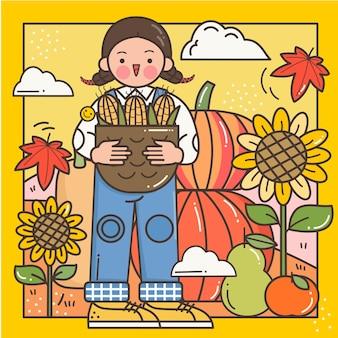 Oogst herfst