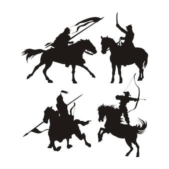 Oorlogs paard logo