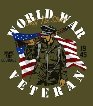 Oorlogsveteraan