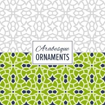 Oostelijke achtergrond naadloos ornament patroon