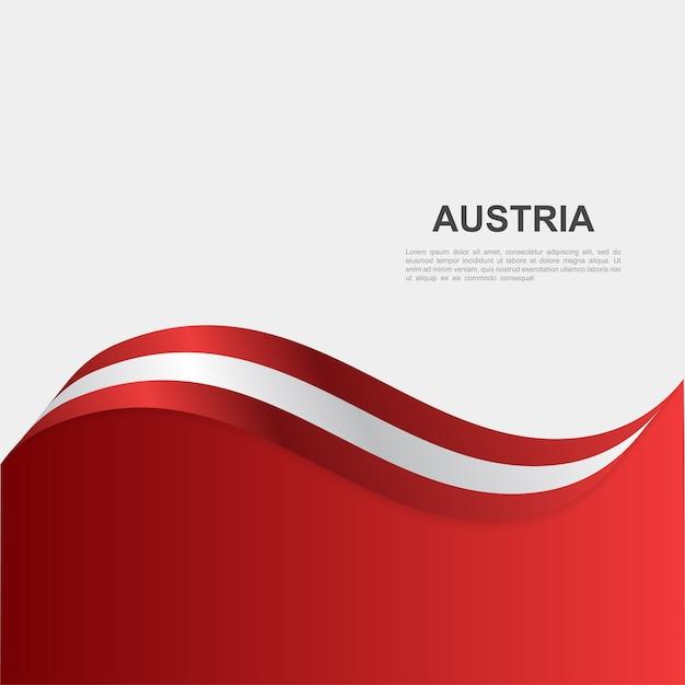Oostenrijk onafhankelijkheidsdag achtergrond sjabloon