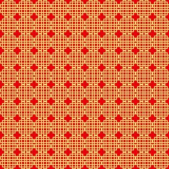 Oosterse aziatische traditionele patronen
