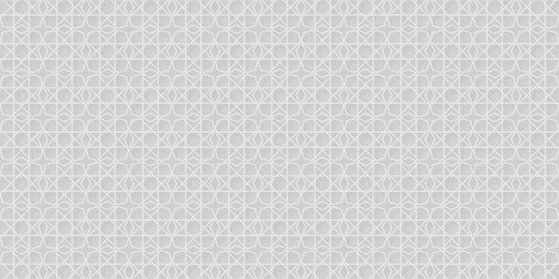 Oosterse naadloze patroon abstracte achtergrond