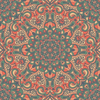 Oosterse sierlijke naadloze patroon.