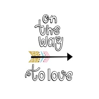 Op weg naar liefde