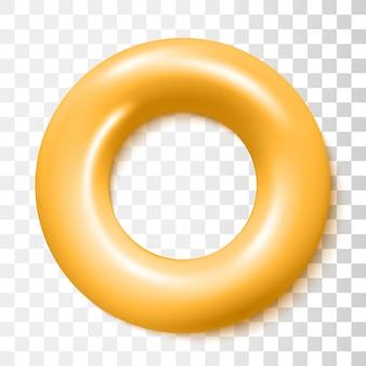 Opblaasbare rubberen ring