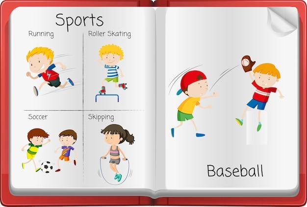Open activiteitendagboekpagina
