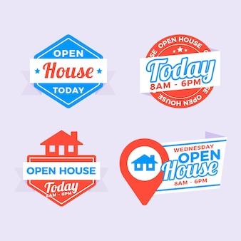 Open huis labelpakket
