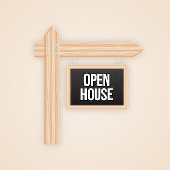 Open huis teken