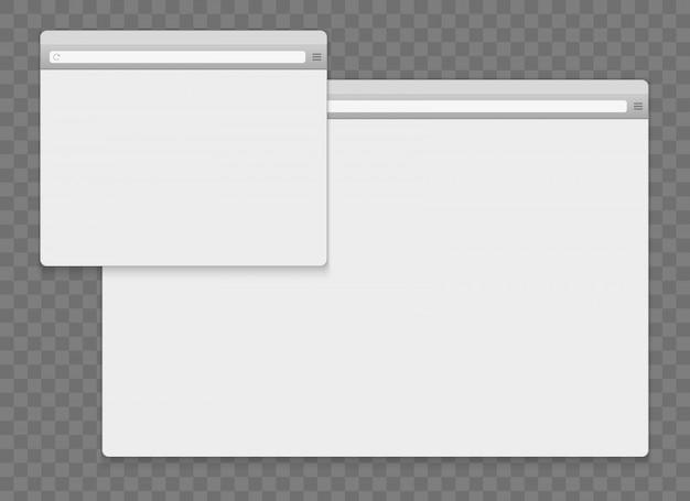 Open internet venster browser achtergrond.
