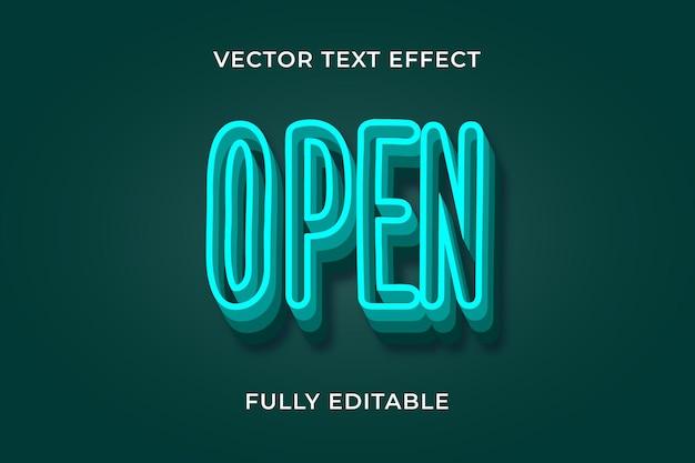 Open teksteffect eps