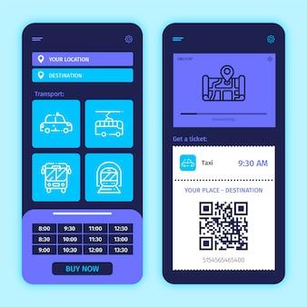 Openbaar vervoer app