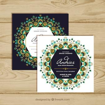 Openingskaart met mandala