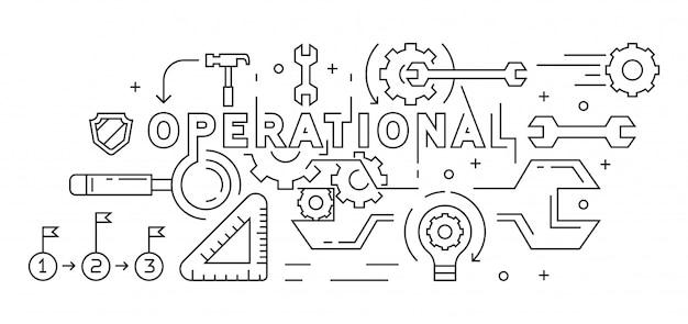 Operationele illustratie
