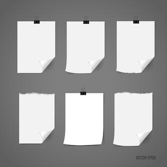 Opmerking papieren collectie