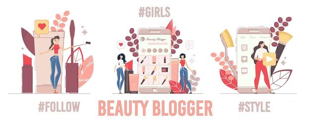 Opnames beauty review, set video-inhoud delen