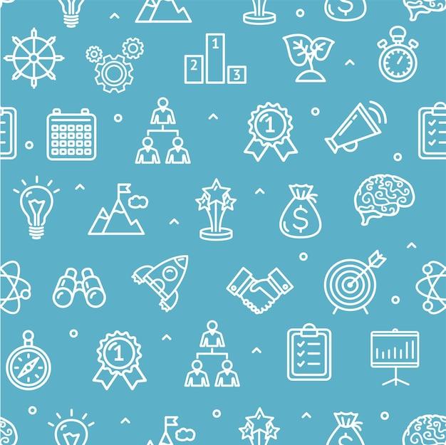 Opstarten van motivatie brainstormen achtergrondpatroon. pixel perfecte kunst. materiaal ontwerp. vector illustratie