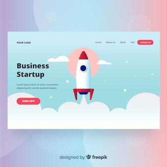 Opstartpagina voor bedrijven