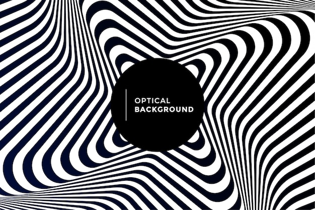 Optische illusie achtergrond vector
