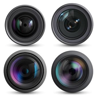 Optische lens realistisch.
