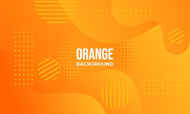 Oranje abstracte achtergrond
