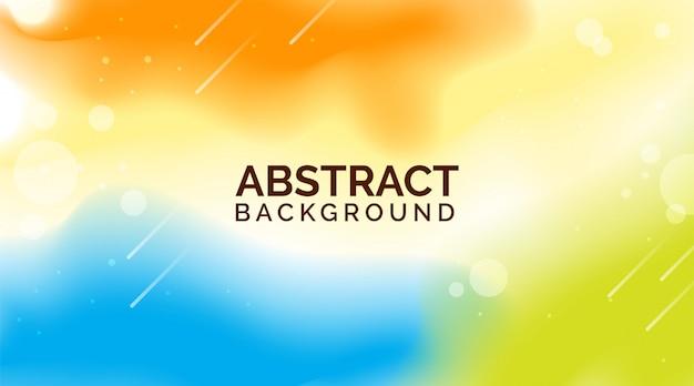 Oranje blauwe gradiënt abstracte achtergronden, moderne kleurrijke achtergronden, dynamische abstracte achtergronden