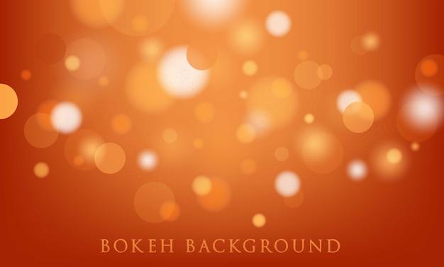 Oranje bokehachtergrond, abstracte, lichte textuur