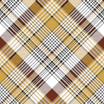 Oranje bruin van de stoffentextuur naadloos patroon als achtergrond