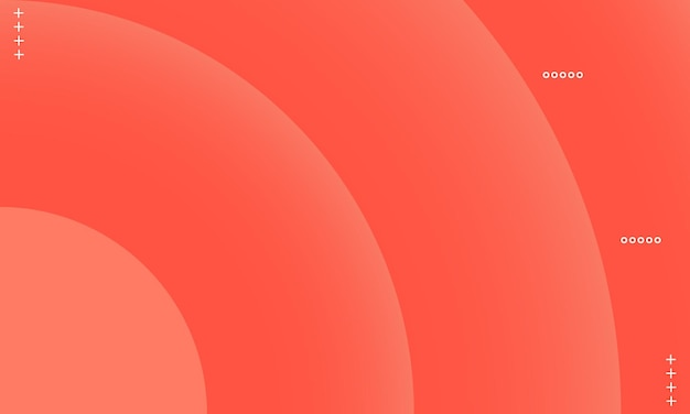 Oranje cirkel verloop achtergrond. patroon voor advertenties, folders.