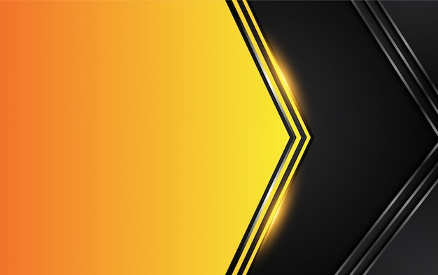 Oranje gele en zwarte achtergrond