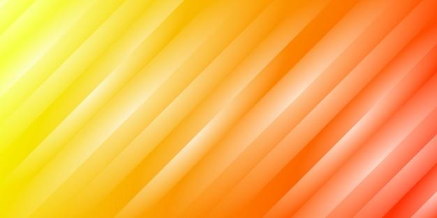 Oranje verloop strepen achtergrond