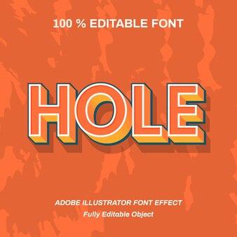 Oranje vetgedreven extrude lettertype