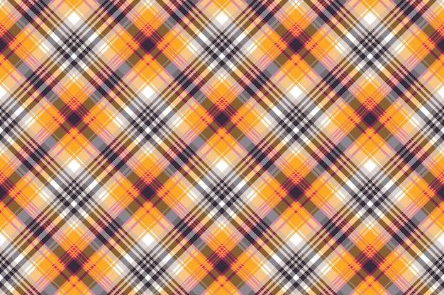 Oranje witte pixel naadloze stoffentextuur