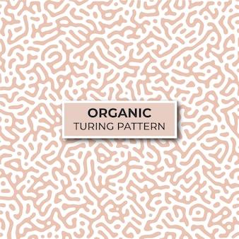 Organisch turing patroon sjabloon